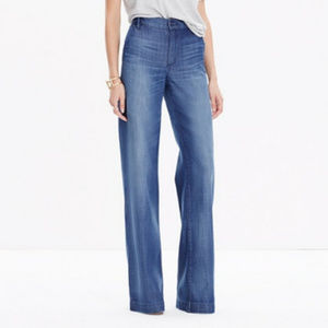 Madewell Trouser Jeans in Kim Wash